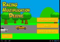Racing Multiplication Deluxe