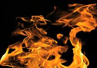 D'explosion de flammes extrême