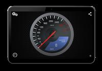 Supercars Compteur de vitesse