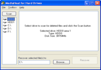 MediaHeal for Hard Drives