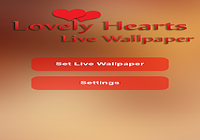 Lovely Hearts Live Wallpaper