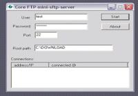 Core FTP Mini SFTP Server