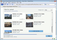 Aurigma Image Uploader Flash