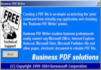 Business PDF Writer