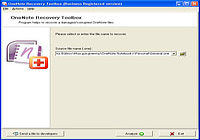 OneNote Recovery Toolbox