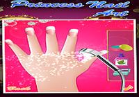 Princesse nail art