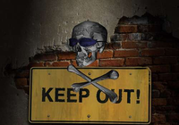 Keep Out 3D Screen Savers Collection