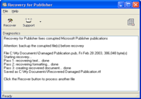 Recovery for Publisher