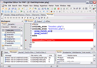 EngInSite PHP Editor (IDE)