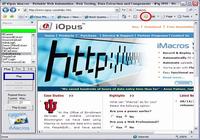 iMacros Web Automation and Web Testing