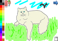 Livre à colorier: les chats