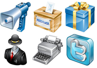 Social icon library 5000 social icons
