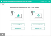 FonePaw - Sauvegarde & Restauration De Données Android
