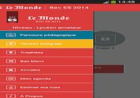 Bac ES 2014 - Le Monde