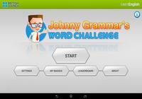 Johnny Grammar Word Challenge