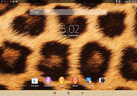 Xperia™ thème African Leopard