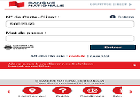 Application Banque Nationale