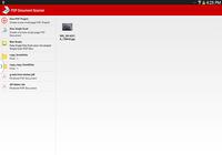 Scanner de documents PDF