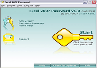 Excel 2007 Password