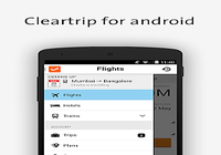 Cleartrip-Hotels Flights IRCTC