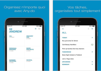 Any.DO Liste de tâches iOS