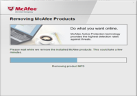 MCPR - McAfee Consumer Product Removal