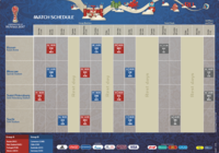 Calendrier officiel de la Coupe de Confédérations 2017