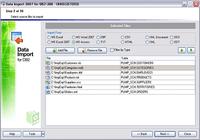EMS Data Import 2005 for DB2