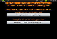 BMI   BMR calculateur