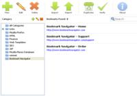 Bookmark Navigator: bookmark manager