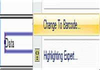 Crystal Reports Barcode Font UFL