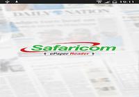 Safaricom Daily Nation Reader