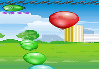 Caza globos juego niños
