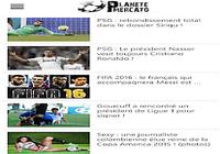 Planete Mercato : infos foot