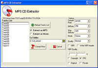 MP3 CD Extractor