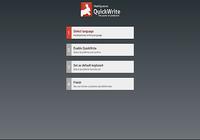 QuickWrite Keyboard Key
