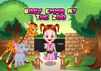 Bébé Emma au zoo