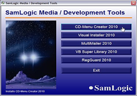 SamLogic CD Menu Creator
