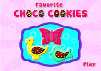 Chocolate Cookies Cooking