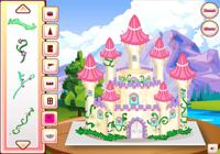 Château en gâteau de princesse