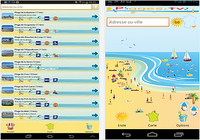 Plages et criques de France Android