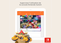 Contrôle parental nintendo Switch ios
