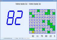 Carte de loto - jeu de loto - version 2016