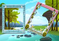 Jungle Dual Photo Frames