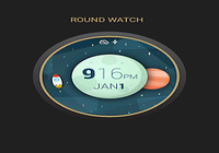 Space And Time Watch Face