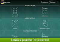 Math Helper: Algèbre et Calcul