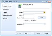 DB Elephant MySQL to MSSQL Converter