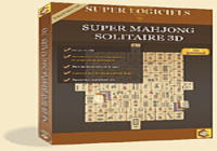 Super Mahjong Solitaire 3D