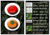 Z - Ecran enregistreur Android