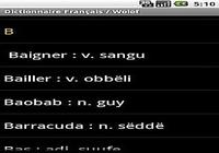 Dictionnaire Français / Wolof